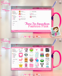 Theme for iconpackager FashionPink