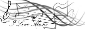 I love music brushes by chibicaty