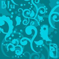 Blu Swirls by chibicaty