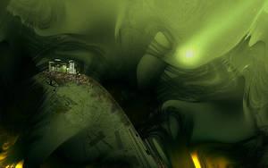 Emerald City Widescreen by teddybearcholla