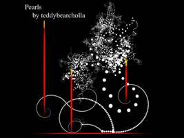 Pearls brush by teddybearcholla