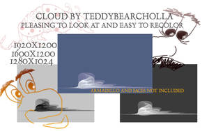 Cloud by teddybearcholla