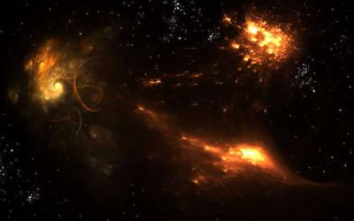 Fire Nebulae by teddybearcholla