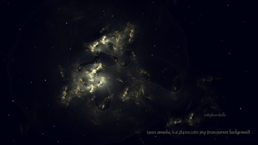 Space Amoeba by teddybearcholla