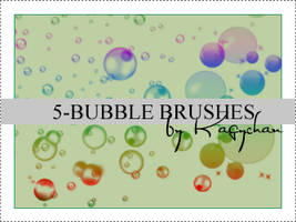 5 Bubble brushes by Kagychan