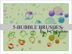 5 Bubble brushes
