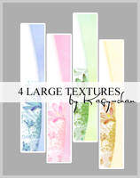4 large textures by Kagychan