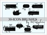 30 icon brushes