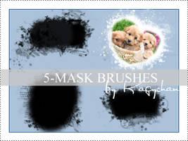 5 big mask brushes by Kagychan