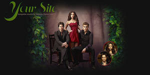 Vampire Diaries PSD header by Nikrecia