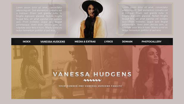 Vanessa Hudgens PSD header