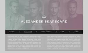 Alexander Skarsgard PSD header by Nikrecia