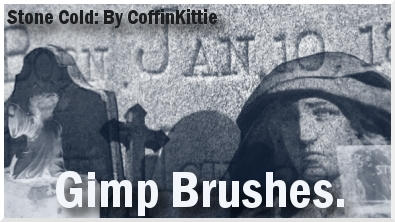 Stone Cold Gimp Brushes by coffinkittie