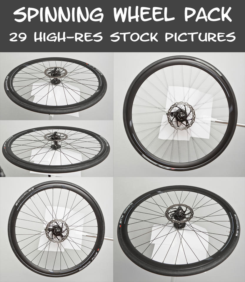 Spinning Wheel Pack by pixelmixtur-stocks