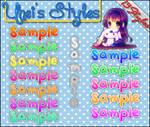 13 Styles