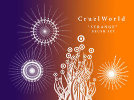 Strange Brush Set by CruelWorld