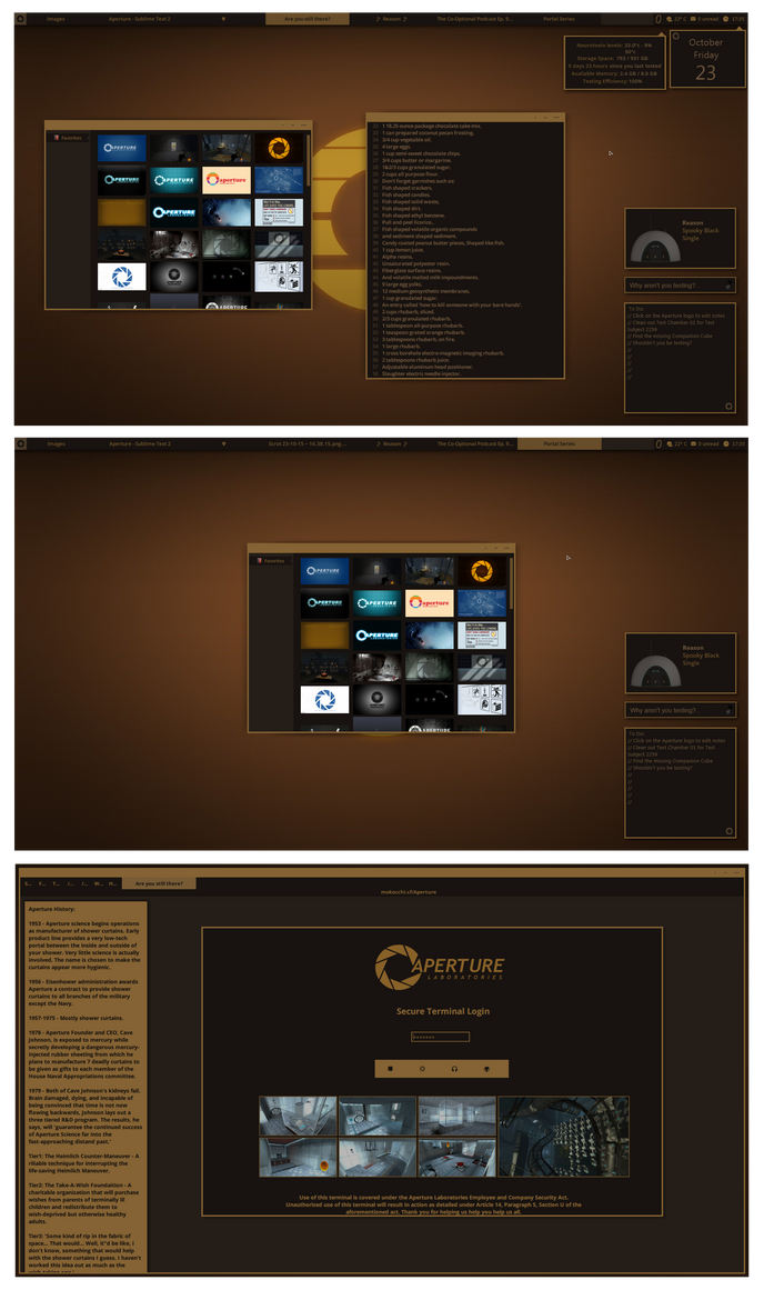 Aperture theme for Win7