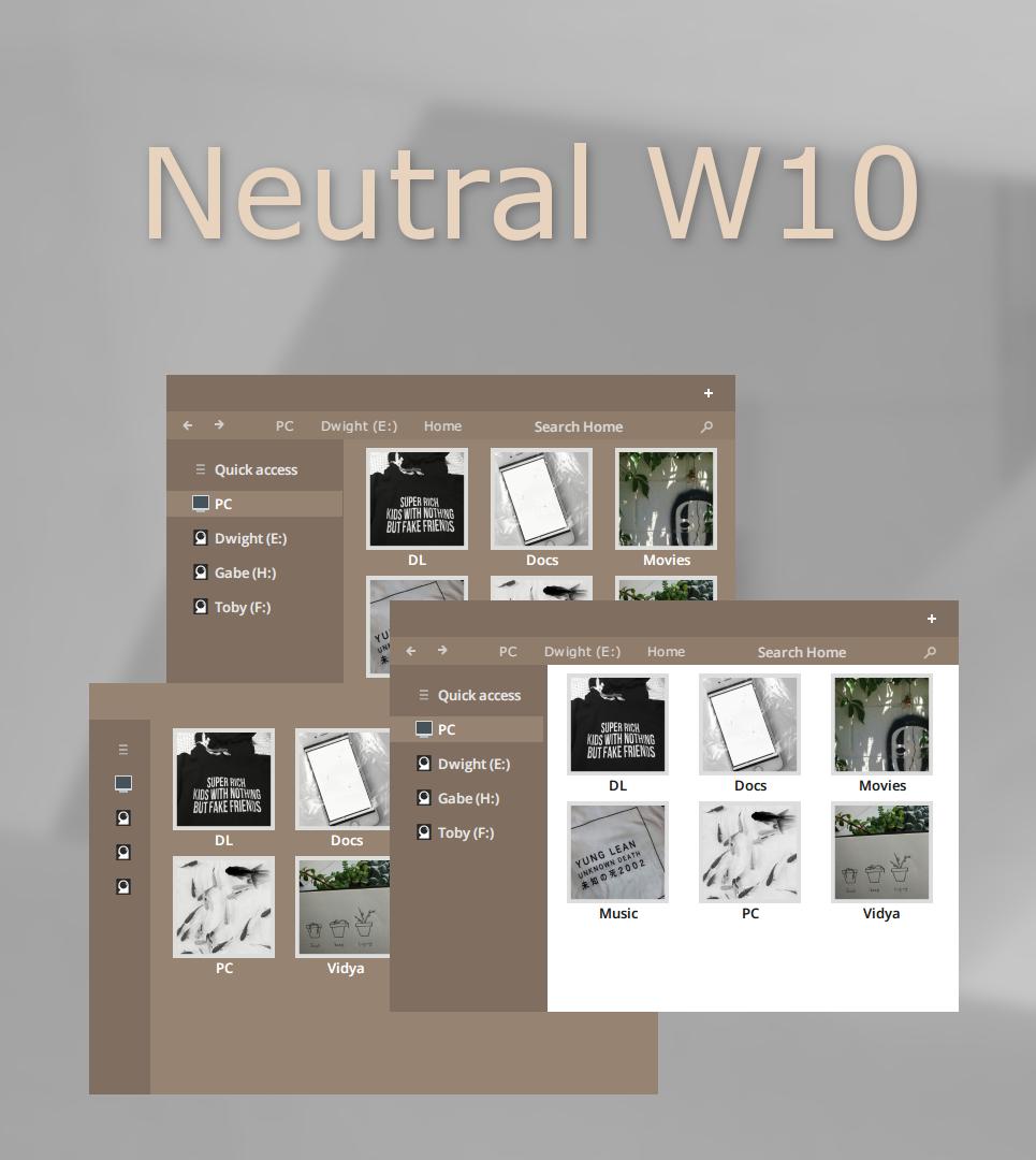 Neutral W10