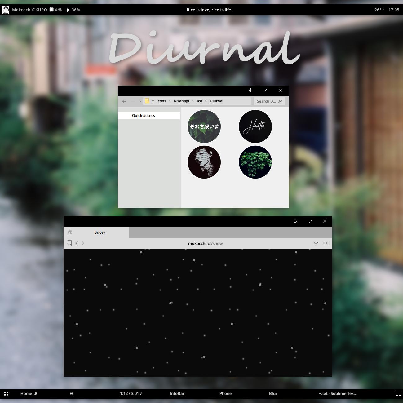 Diurnal W10