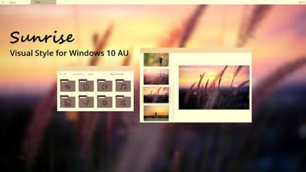 Sunrise W10 by chloechantelle