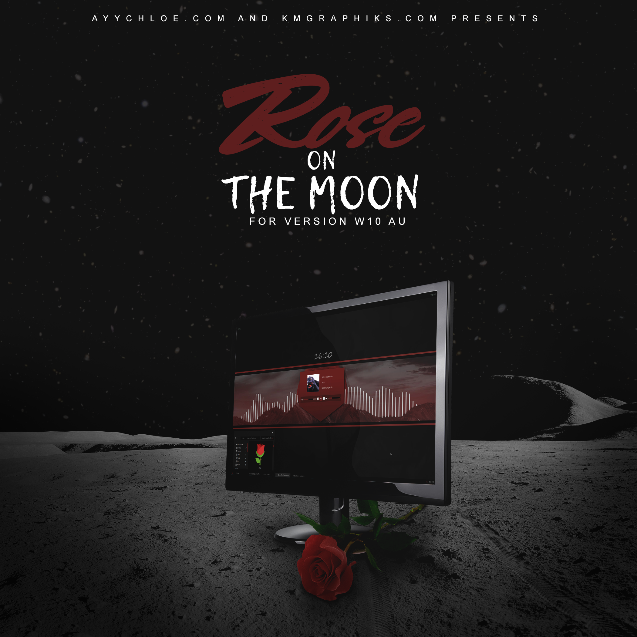 Rose On The Moon W10