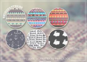 Weird patterns. by skiesblue