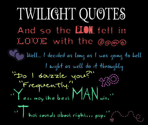 quotes from the twilight saga - photo #12