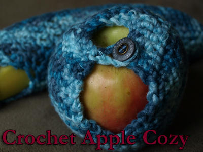 Crochet Apple Cozy Pattern by Eyespiral-stock