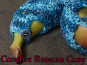 Crochet Banana Cozy Pattern