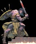 Conan the Cimmerian  Render 1