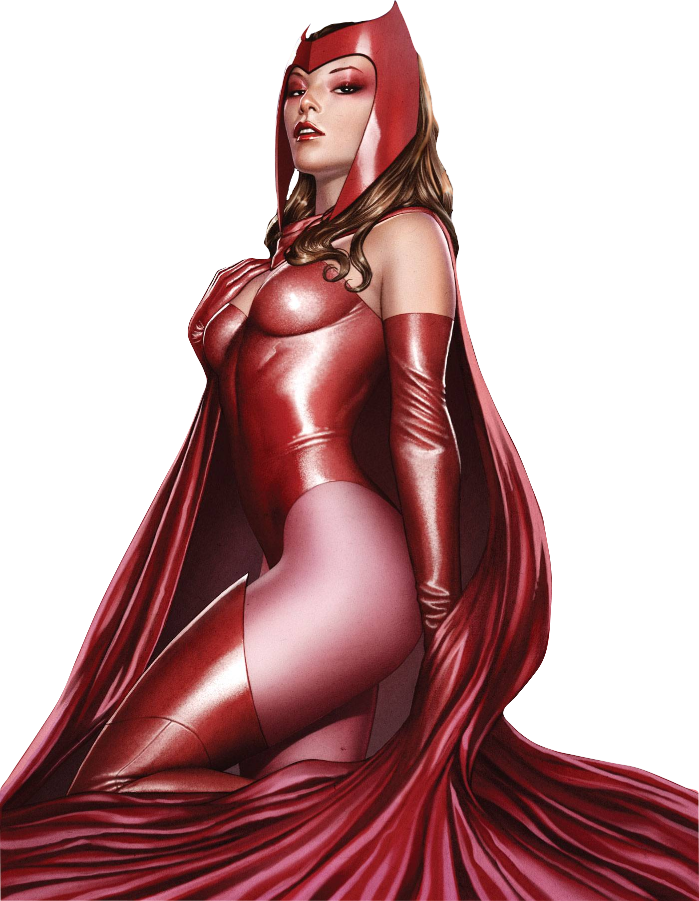 Scarlet Witch Render By
