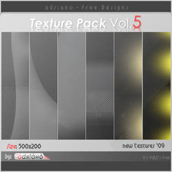 Texture Pack vol.5 by adriano-designs