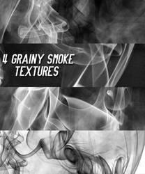 4 Grainy smoke textures by chamkilli