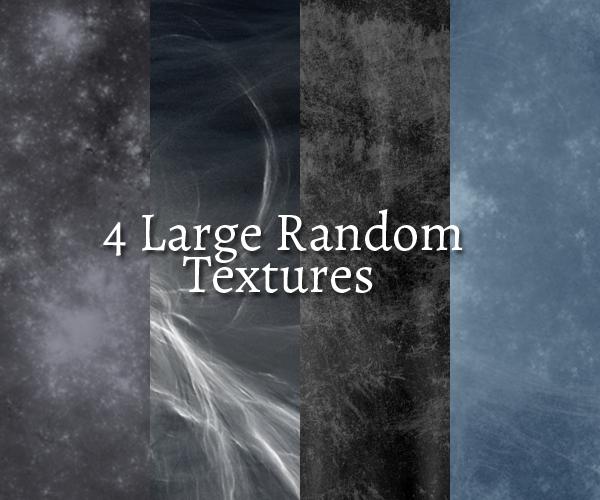 4 Large Random Textures by chamkilli