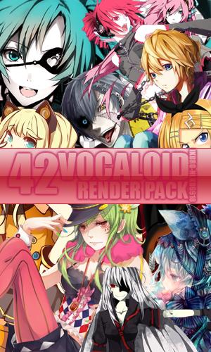 Vocaloid Render Pack by iKuro-Neko6918