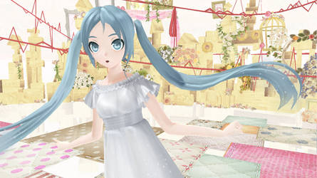 [MMD]-Patchwork Staccato