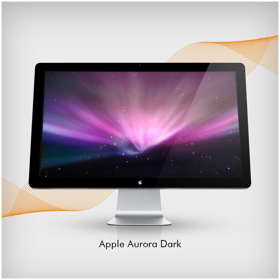 Apple Aurora Dark by Kinggreek