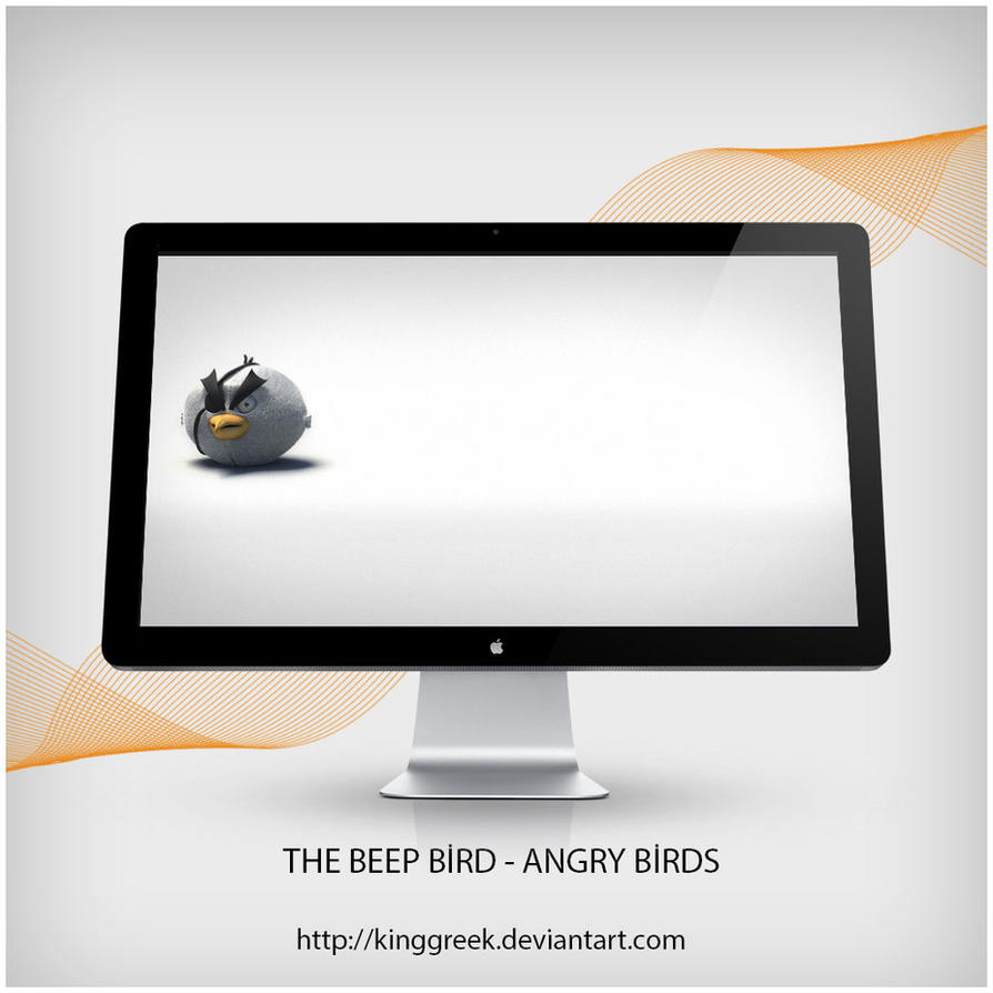 The Beep Bird - Angry Birds by Kinggreek