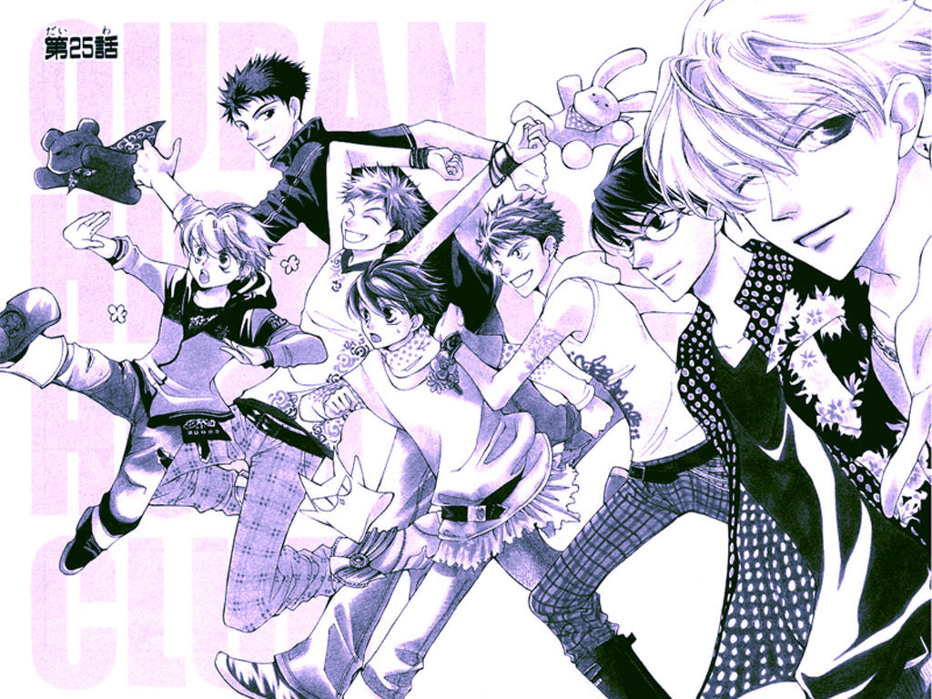 Wallpaper - Ouran HS Host Club by