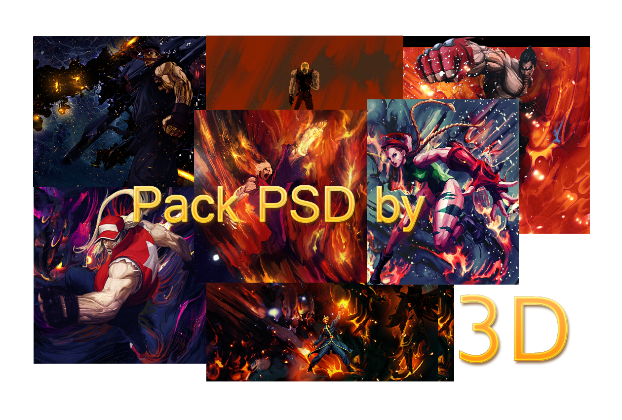 Tr3sD pack Psd