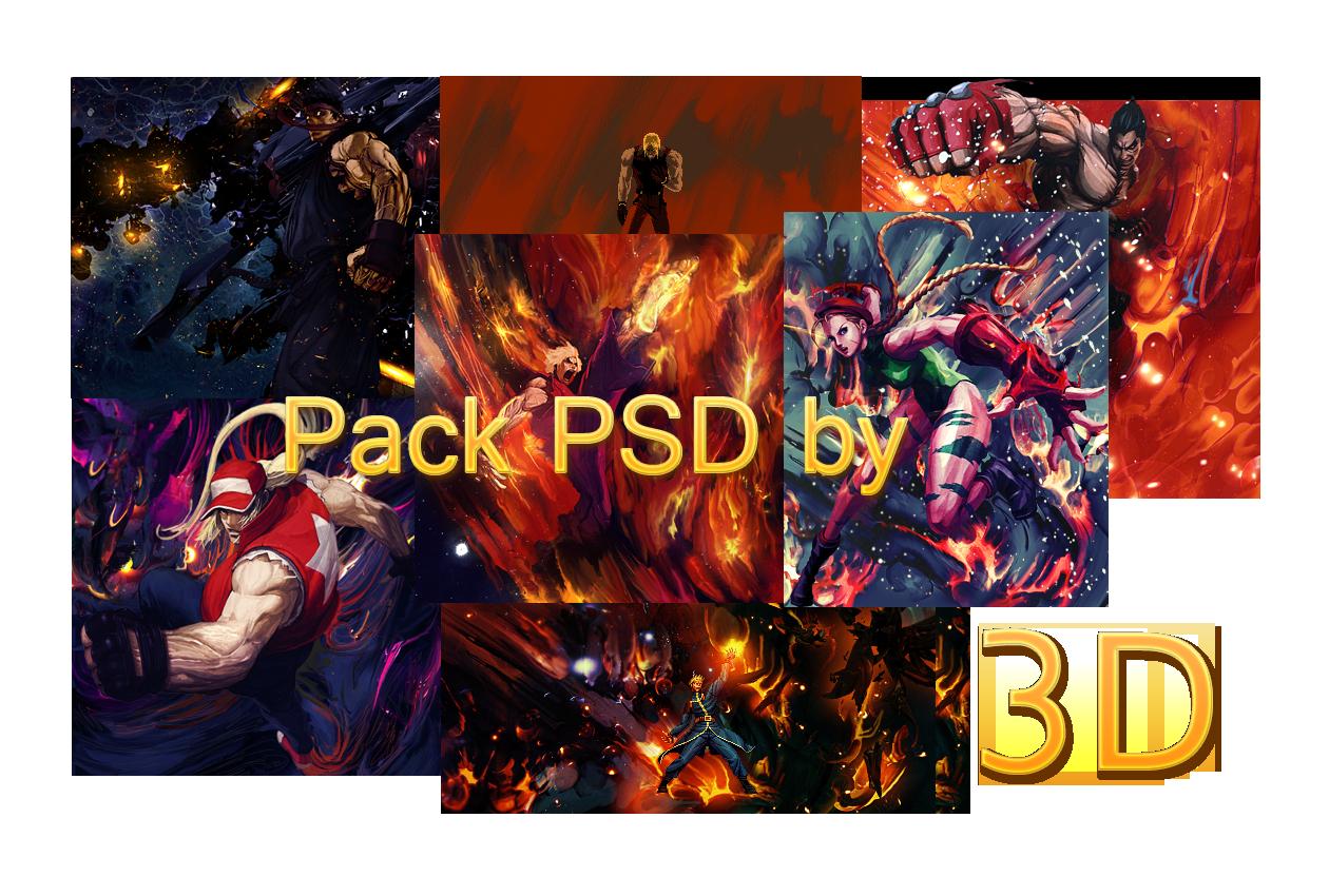 Tr3sD pack Psd