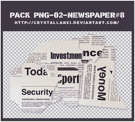 pack png-02-Pieces of newspaper#8