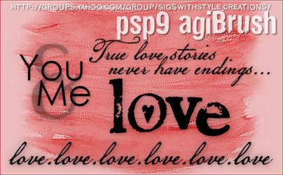 PSP9 Brushes by Agi by PspAgi