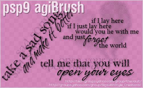 agiBrush 43 by PspAgi
