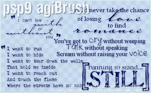 agiBrush 49 by PspAgi