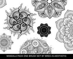 Mandala Brush Pack 1 by Bree-is-aesthetic by Bree-is-aesthetic