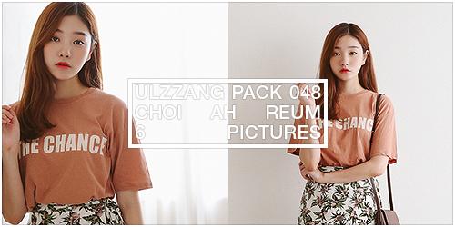 ulzzang pack 048.zip // choi ah reum by Michelledae