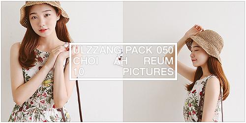 ulzzang pack 050.zip // choi ah reum by Michelledae