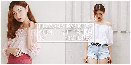 ulzzang pack 051.zip // choi ah reum by Michelledae