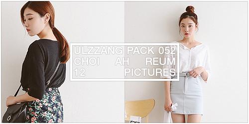 ulzzang pack 052.zip // choi ah reum by Michelledae